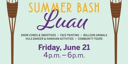 """The Longest Day"" Summer Luau"