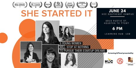 She Started It: Film Screening & Women Entrepreneurs Panel tickets