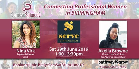 Samosa Saturday - Connecting Professional Women in Birmingham tickets