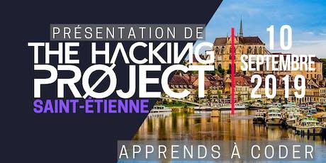 The Hacking Project Saint-Étienne automne 2019 (présentation gratuite) billets