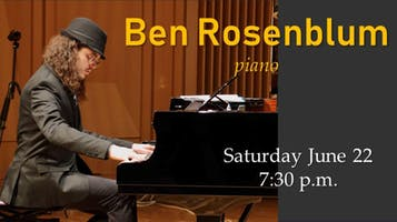 Jazz Pianist, Composer and Accordionist Ben Rosenblum