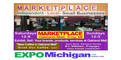 September 2019, Small Business MARKETPLACE, 9 dates, Saturdays, Sundays