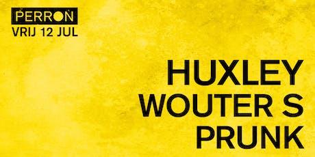 HUXLEY, WOUTER S, PRUNK tickets