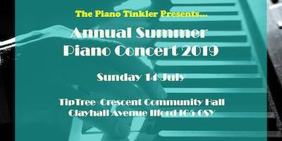 Piano Tinkler Summer Concert 2019
