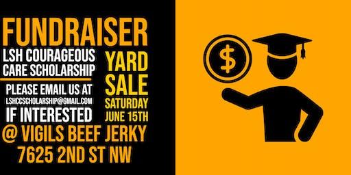 LSH Scholarship Fundraiser Yard Sale