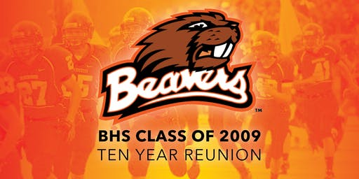 Beavercreek High School Class of 2009, Ten Year Reunion