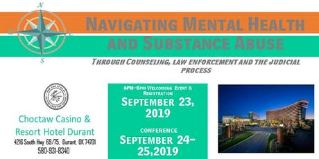 Navigating Mental Health and Substance Abuse through Counseling, Law Enforcement and the Judicial Process  tickets