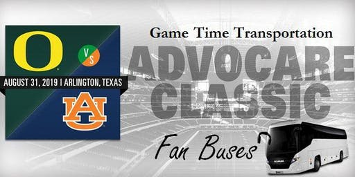 Advocare Classic Fan Bus - Downtown Dallas to AT&T Stadium
