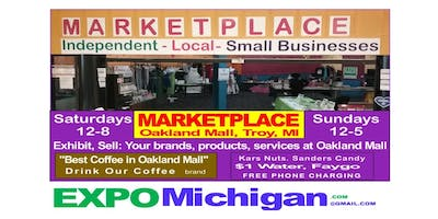 Small Business MARKETPLACE, Sundays 12am-5pm