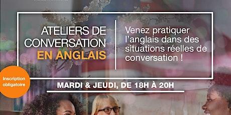 Ateliers de conversation en anglais billets