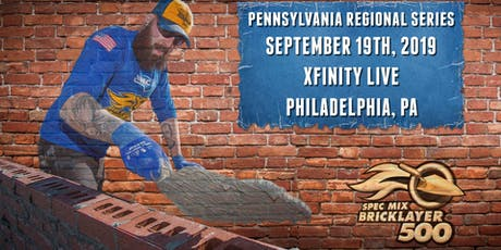 SPEC MIX BRICKLAYER 500® Pennsylvania Regional Series tickets