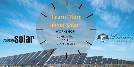 Learn More about Solar Workshop tickets