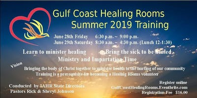 Gulf Coast Healing Rooms Training