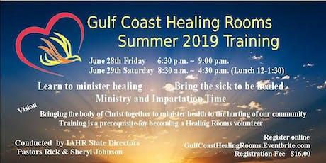 Gulf Coast Healing Rooms Training tickets
