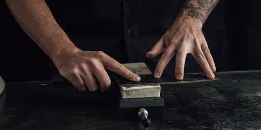 Knife Sharpening Class at Town Cutler