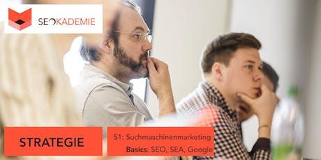Suchmaschinenmarketing - Basics (S1), SEO, SEA, Google tickets