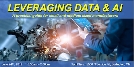 Leveraging Data & AI: A practical guide for small & medium manufacturers tickets