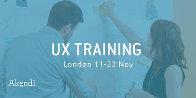 UX Training & Certification, London - Nov 2019