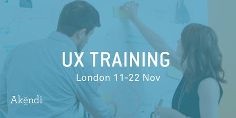 UX Training & Certification, London - Nov 2019 tickets