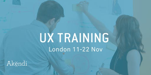 UX Training & Certification, London - Nov 2019