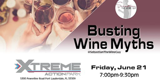 Busting Wine Myths and Tasting-- Benefiting T1D Racers.org