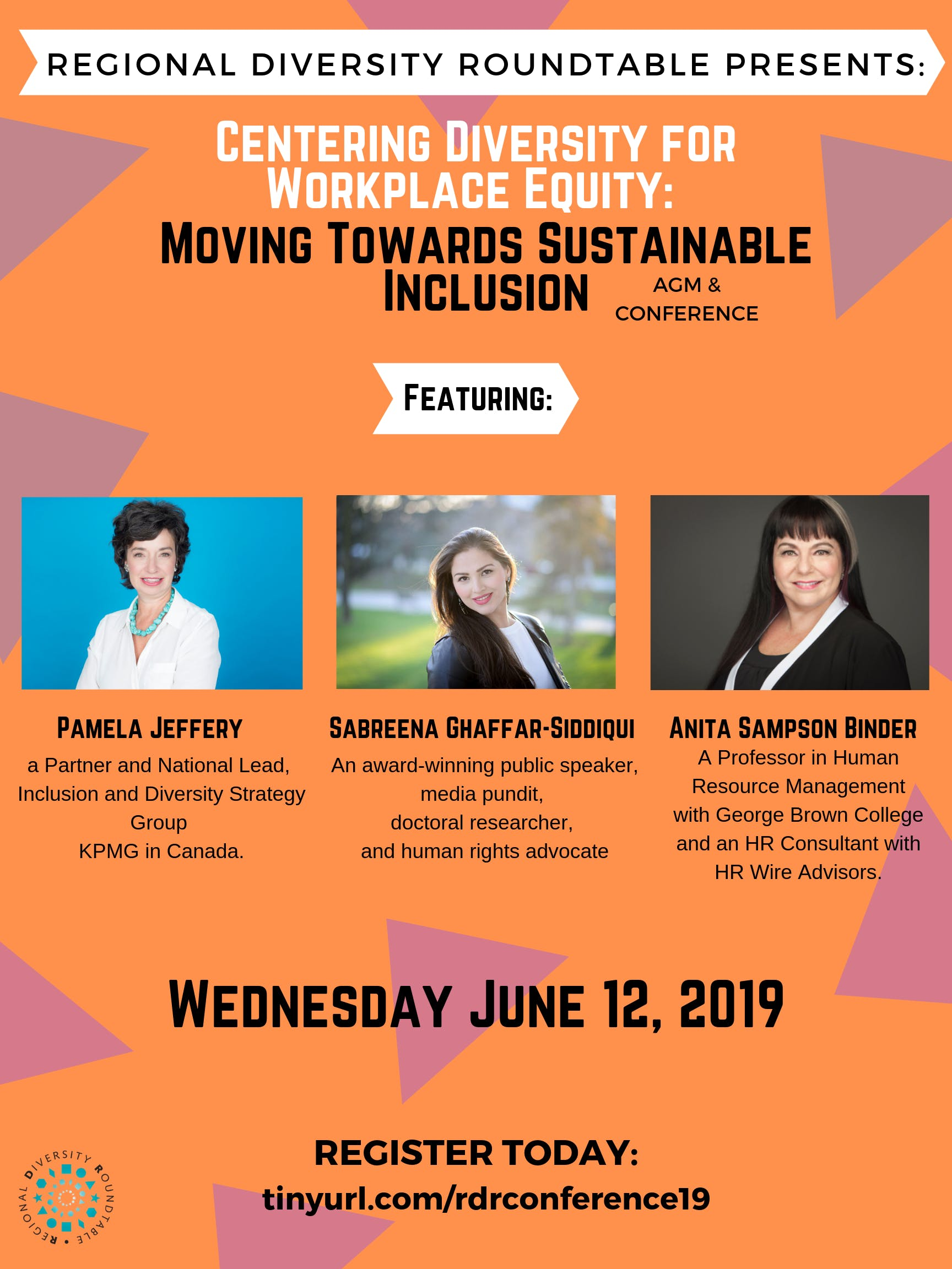 RDR Conference 2019: Centering Diversity for Workplace Equity