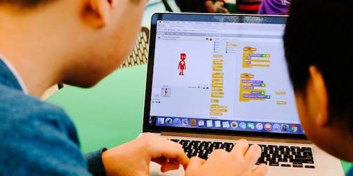Stage : création de jeux vidéo avec Scratch (7 à 11 ans)