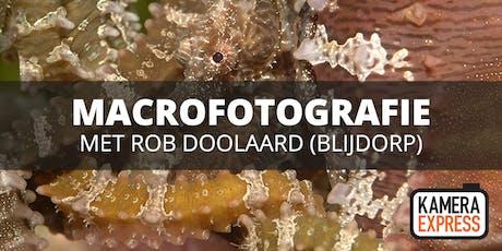 Zoofotografie/Macrofotografie Diergaarde Blijdorp met Rob Doolaard tickets