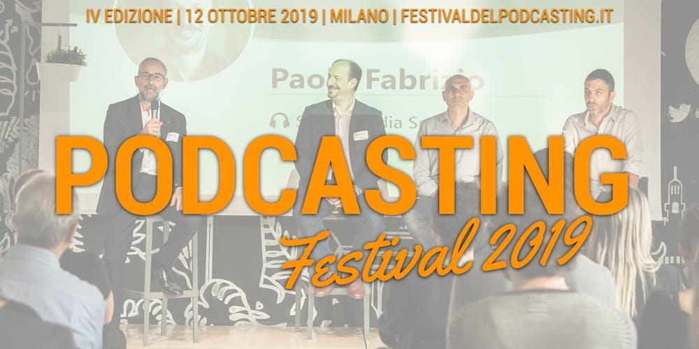 Il Festival del Podcasting 2019 2