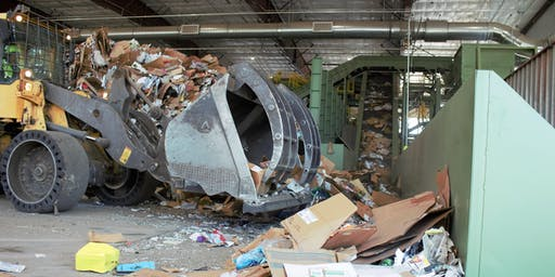 Waste Management Materials Recovery Facility Tour