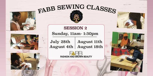 SEWING CLASS # 2