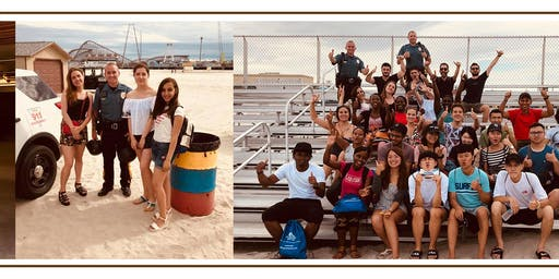 BEACH BASH for SWT International Exchange Visitors