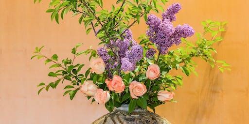 IKEBANA -Flower Arrangement Class (SHINSEI STYLE)-
