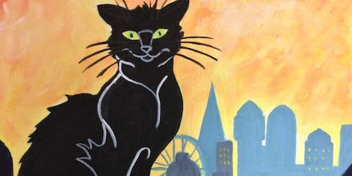 Paint Le Chat Noir! Leeds, Thursday 22 August