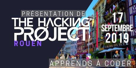 The Hacking Project Rouen automne 2019 (présentation gratuite) billets