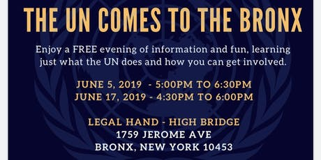 The United Nations comes to the Bronx tickets