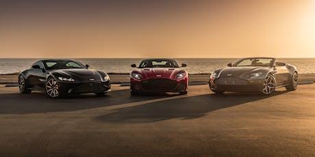 2019  Aston Martin Measuring Session tickets
