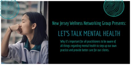 Let's Talk MENTAL HEALTH! Why practitioners should all be aware! tickets
