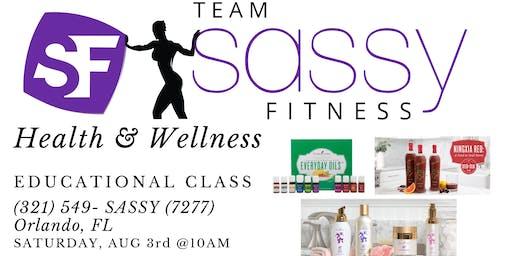 Team SassyFitness: Health & Wellness Educational CLASS