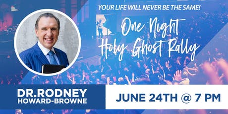 Rodney Howard-Browne tickets
