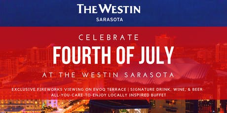 4th of July at The Westin Sarasota tickets