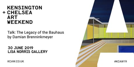 Talk: The Legacy of the Bauhaus by Damian Brenninkmeyer tickets