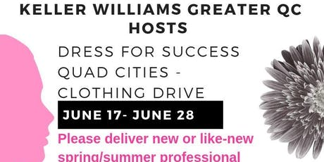 Keller Williams GQC-Dress for Success Quad Cities - Clothing Drive tickets
