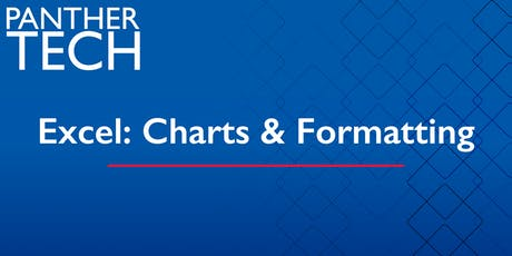 Excel: Charts & Formatting - Atlanta - Classroom South - Room 401 tickets