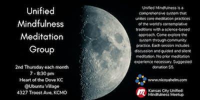 Unified Mindfulness Meditation Group - Second Thursdays, July 2019