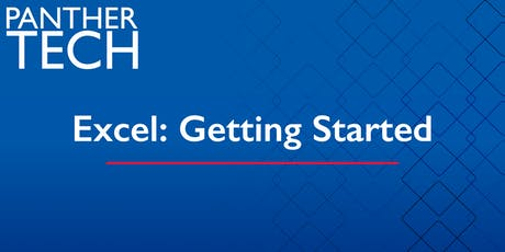 Excel: Getting Started - Atlanta - Classroom South - Room 401 tickets