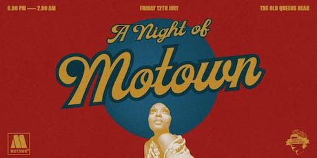 The Motown Get Down tickets