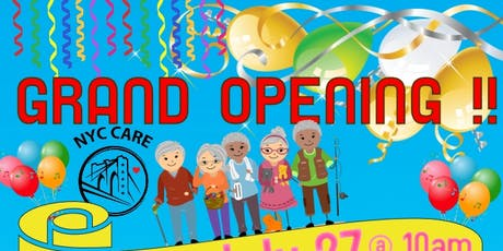 GRAND OPENING NYC CARE tickets