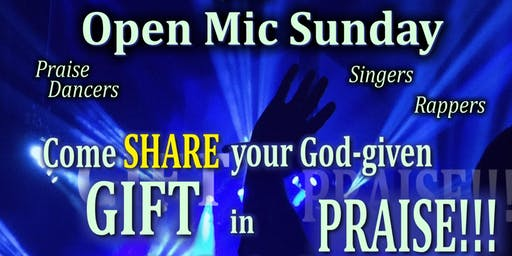 Open Mic Sunday