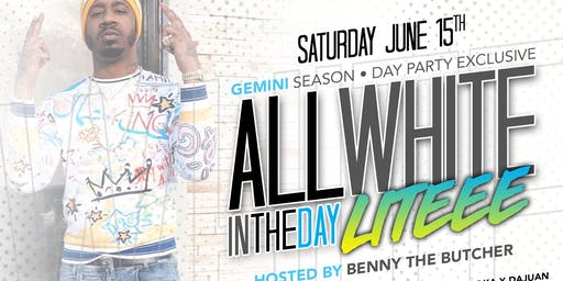 All White In The Day Lite DAY PARTY